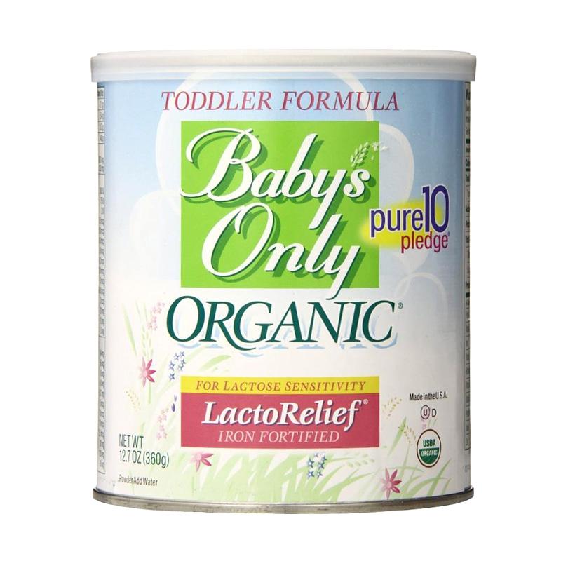 상품 상세보기 Baby S Only Organic 베이비스 온리 오가닉 토들러 분유 락토